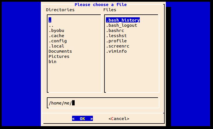 LinuxCommand org: Dialog