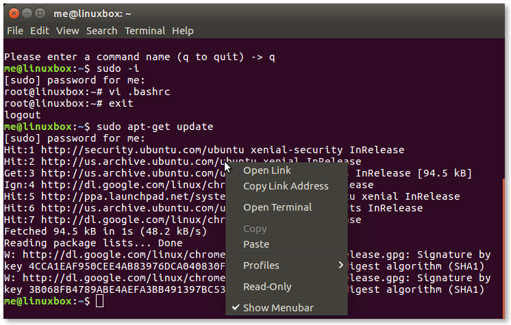 LinuxCommand org: Power Terminals