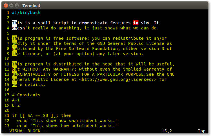 LinuxCommand org: Vim, With Vigor