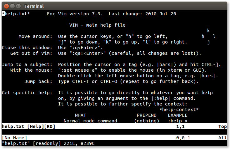 LinuxCommand org: Vim, With Vigor